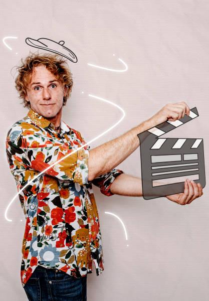 Stefan der Moviemaker für die Mediax