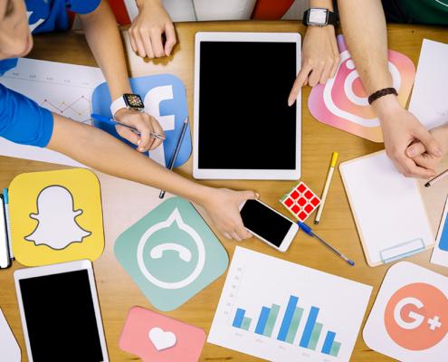 Neue Social Media Plattformen